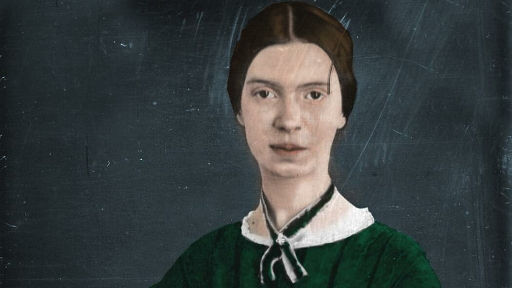 A painting of a girl.