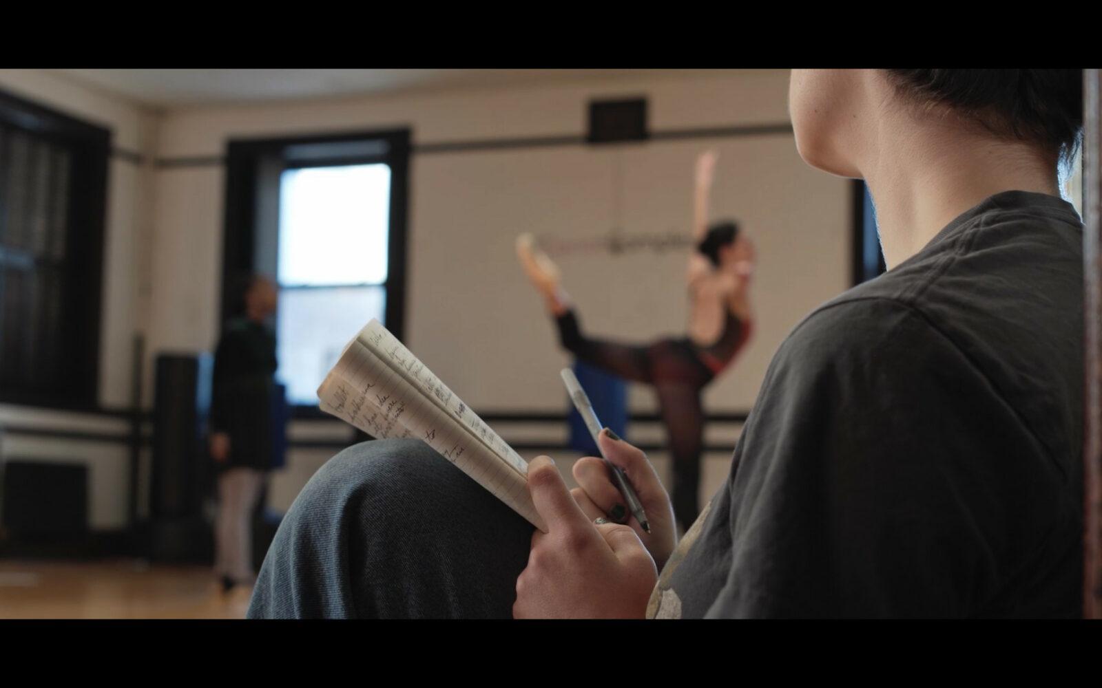 A dance class.